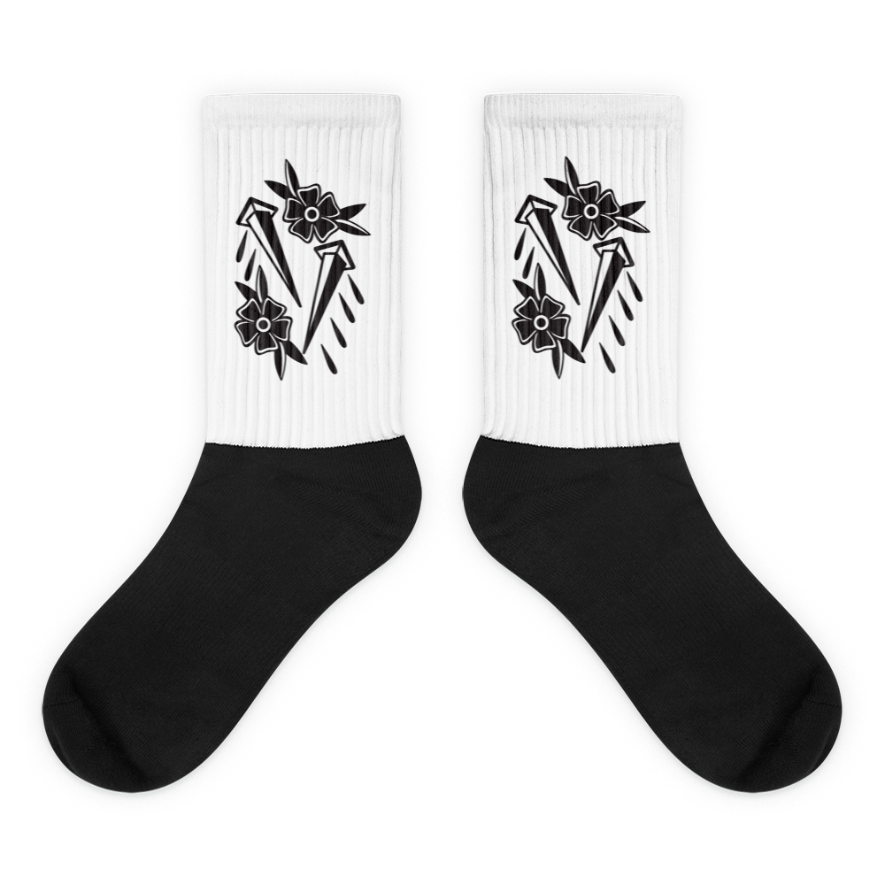 Image of Rose & Nail Socks
