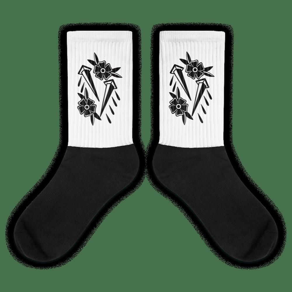 Image of Rose & Nail Socks