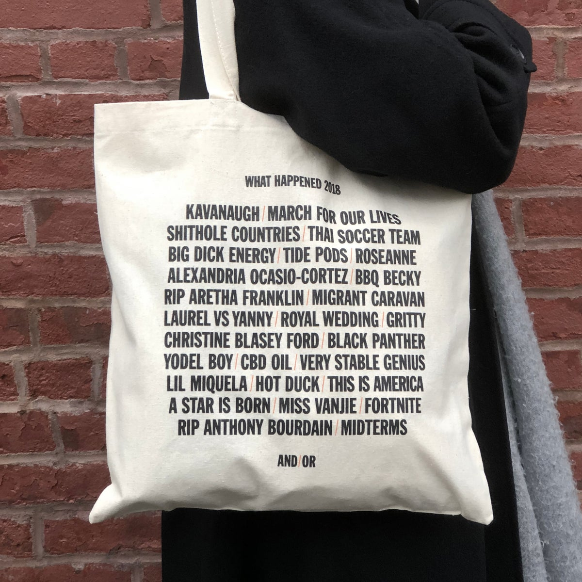 Image of What Happened 2018 Tote