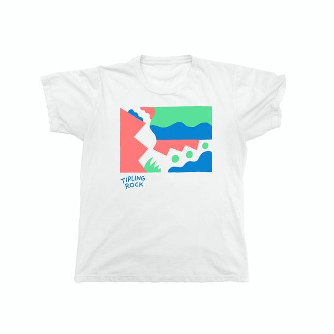 Image of Tipling Rock T Shirt (white)