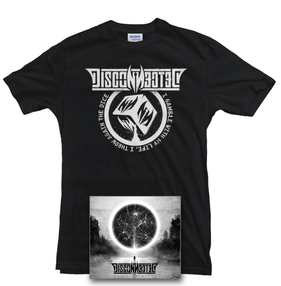 """Image of Pack Cd signed + T-Shirt """"White Colossus Tour 2018"""""""