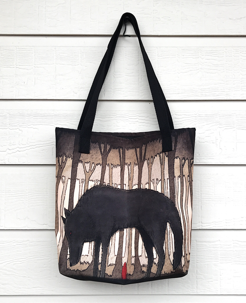 Image of Little Red Riding Hood Tote Bag