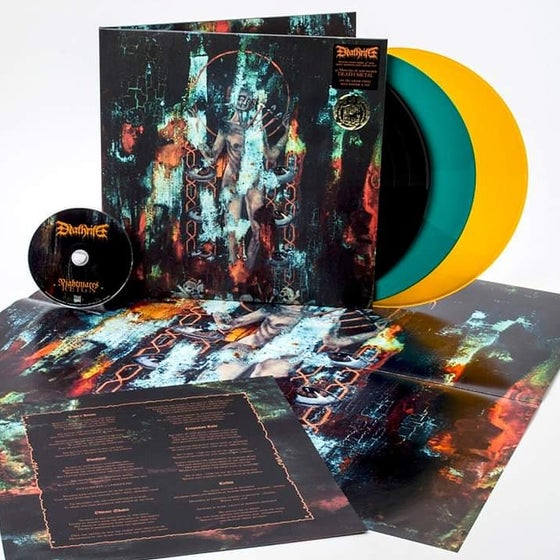 "Image of ""Nightmares Reign"" LP limited tour press 200"