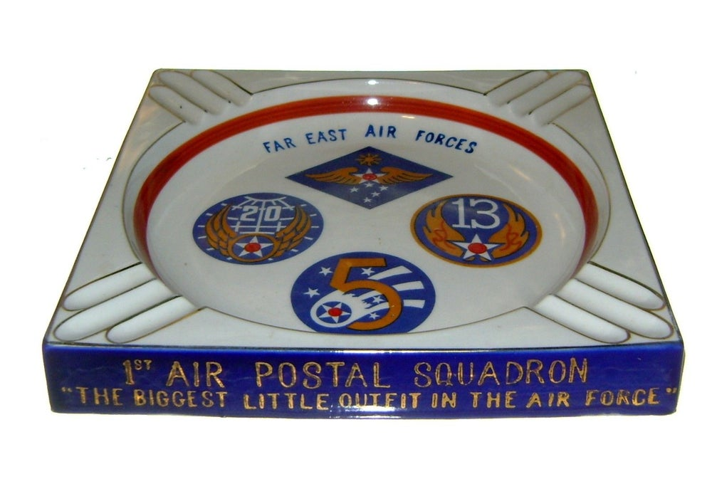 Image of 009FE - 1950's Korean War Far East Air Forces Ash Tray