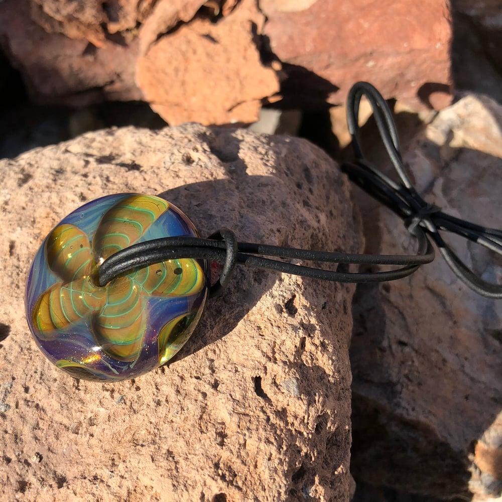 "Image of ""Aurora"" Wheel Bead"