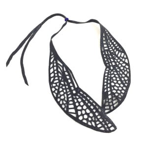 Image of dragonfly wing necklace