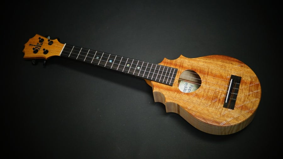 Image of KoAloha Custom Pineapple Sunday Tenor