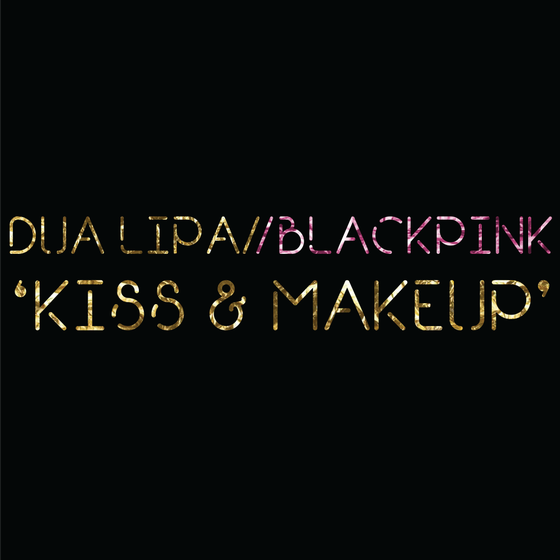 Image of Dua Lipa/Blackpink 'Kiss And Makeup' Drum Notation