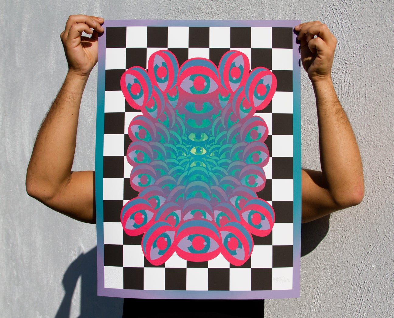 Image of 'Trip Out' Limited Edition Print (2 color ways)