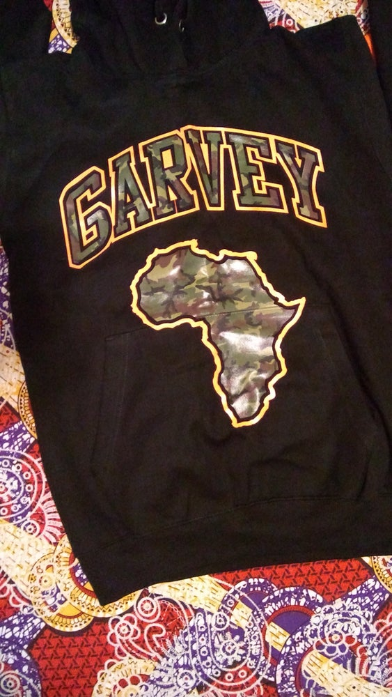 Image of GARVEY CAMO HOODY