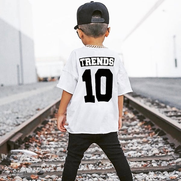 Image of KIDS WHITE BALLER TEE