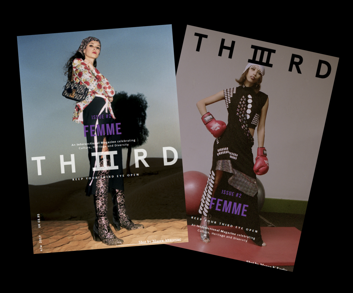 Image of THIIIRD Issue #2: Femme Cover 1 or 2