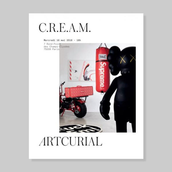 Image of ALL OVER VIP SUPREME SLEAVE + ARTCURIAL CREAM CATALOGUE
