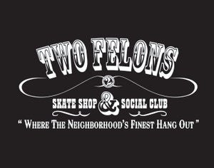 "Image of Two Felons ""Social Club"" (Blk/wht)"