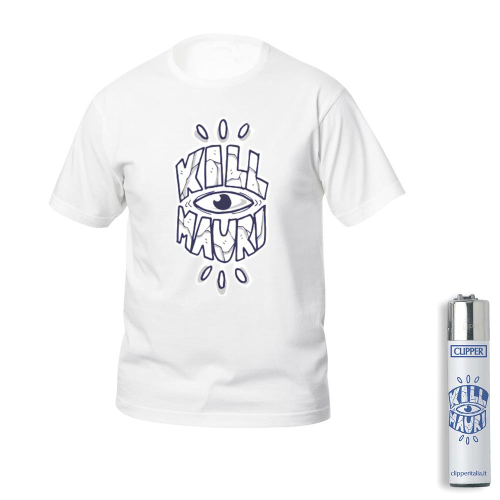 Image of Kill Mauri T-Shirt + Accendino Kit