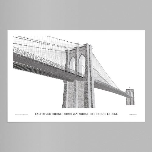 Image of Brooklyn Bridge – Typo Edition