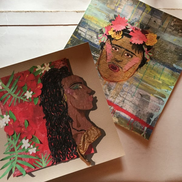 Image of Queen and Frida prints