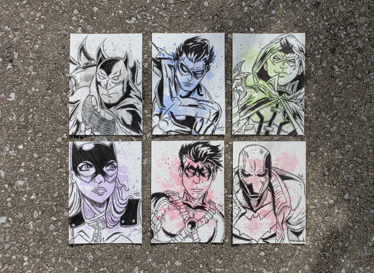Image of Bat Family character set