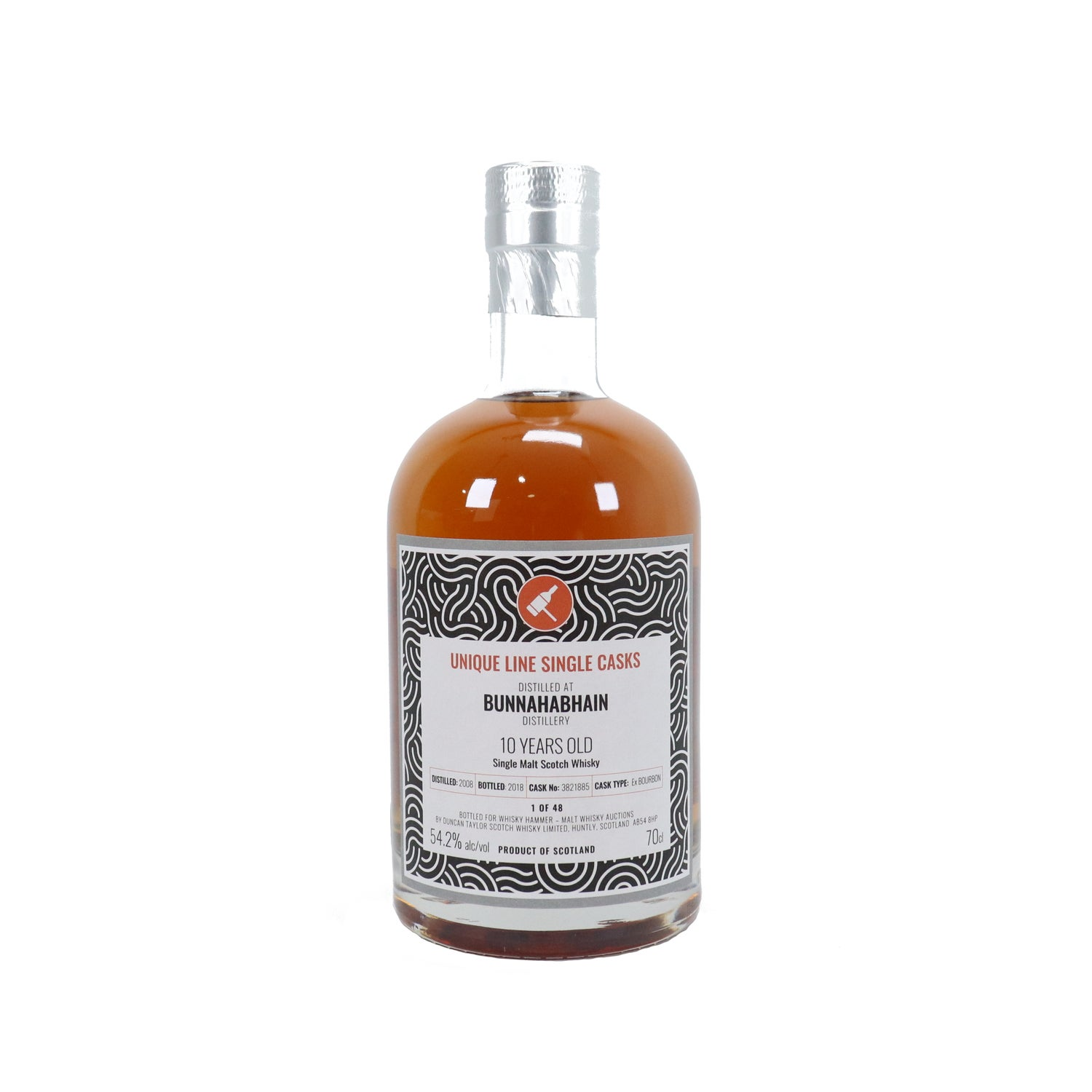 Image of Bunnahabhain - 10 Year Old (2008)