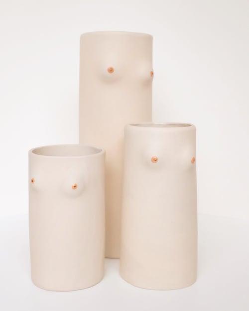 Image of Boobs Vase Stoneware