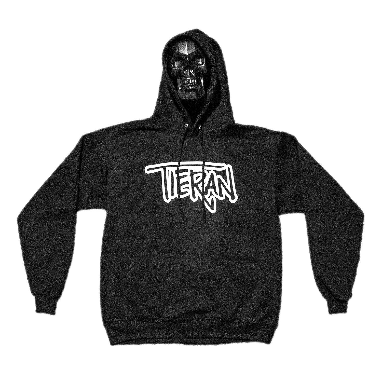 Image of Tieran/Skull Logo Hoodie Front/Back