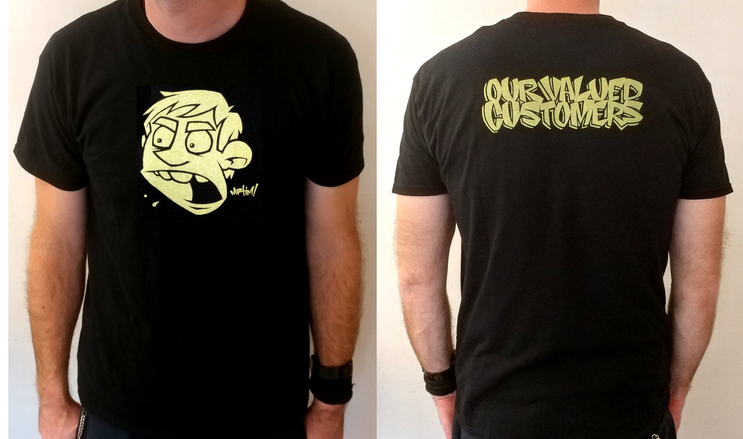 Image of OVC GOLD T-shirt!