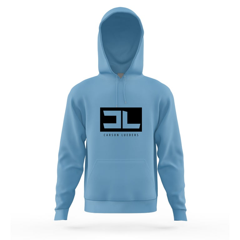 Image of Columbia Blue CL Logo Hoodie