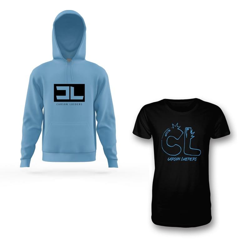 Image of CL Logo Hoodie & Tee