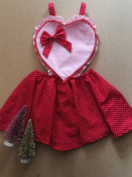 Image of Chocolate Covered Strawberry Dress