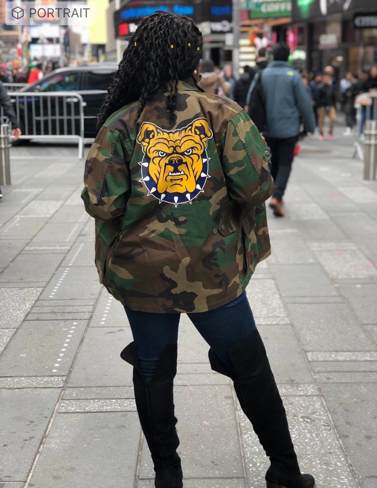 Image of AGGIE  ARMY JACKET
