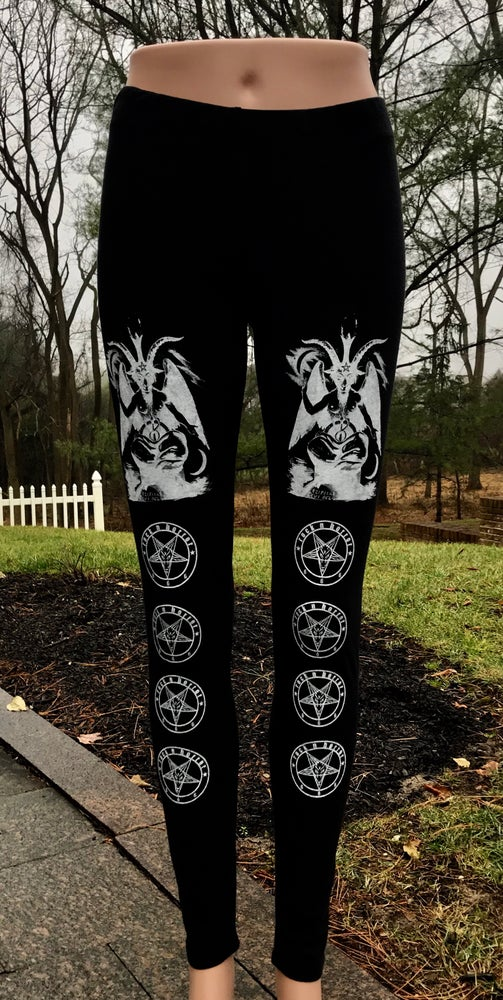 Image of Baphomet Leggings