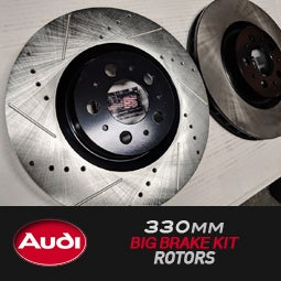 Image of PROJECTB5 - 330mm Big Brake Kit Rotors