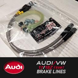 Image of STOPTECH - AUDI/VW 17Z/18Z Brembo Front Brake Lines