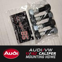 Image of PROJECTB5 - AUDI/VW 17Z 18Z Brembo Brake Caliper Mounting Hdwe