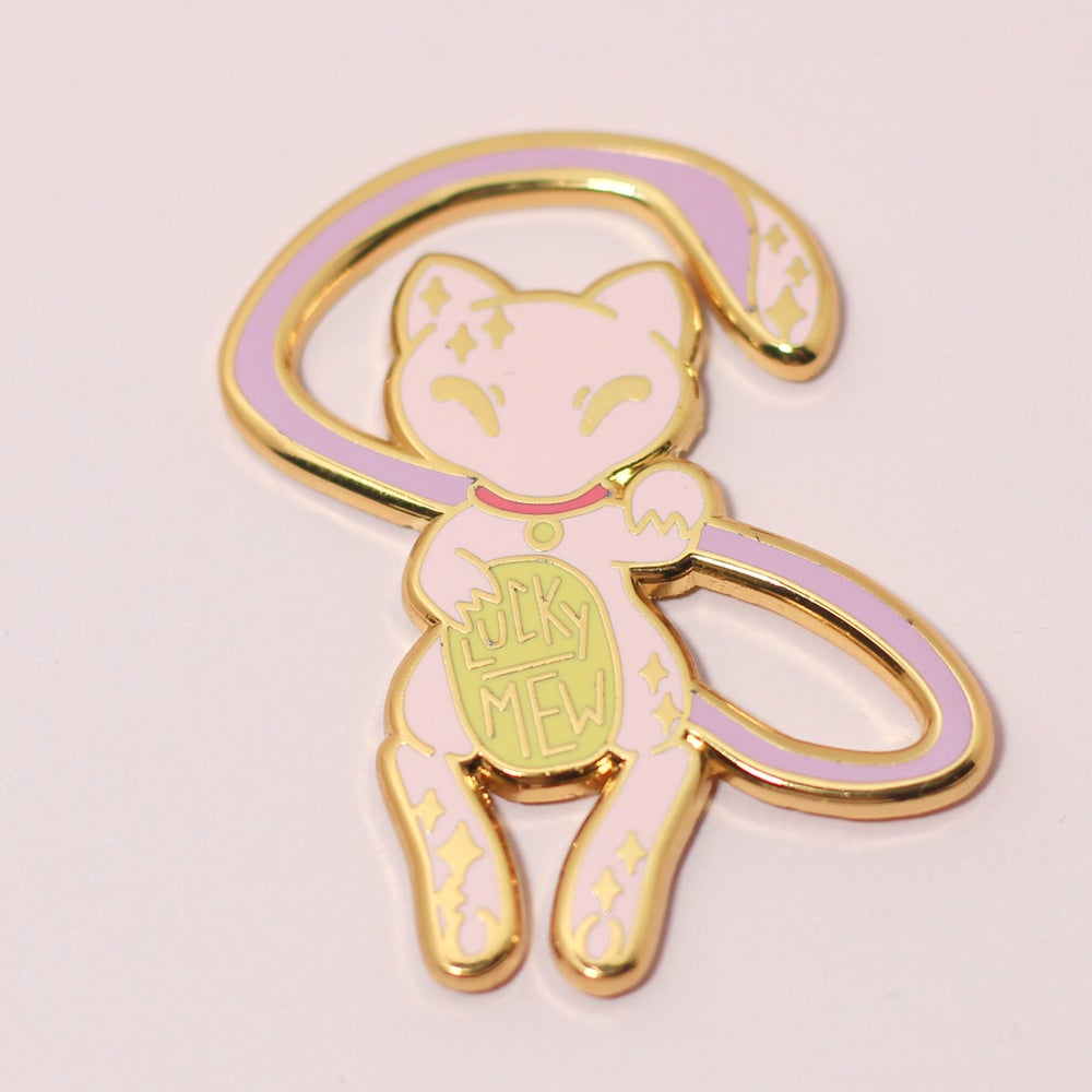 Image of Lucky Mew - Hard Enamel Pin