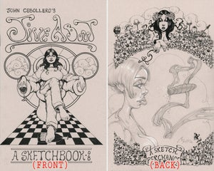 Image of JIVE ABOUT : A SKETCHBOOK - 2008 - Limited Edition of 500 / With Original Pencil Sketch - 03