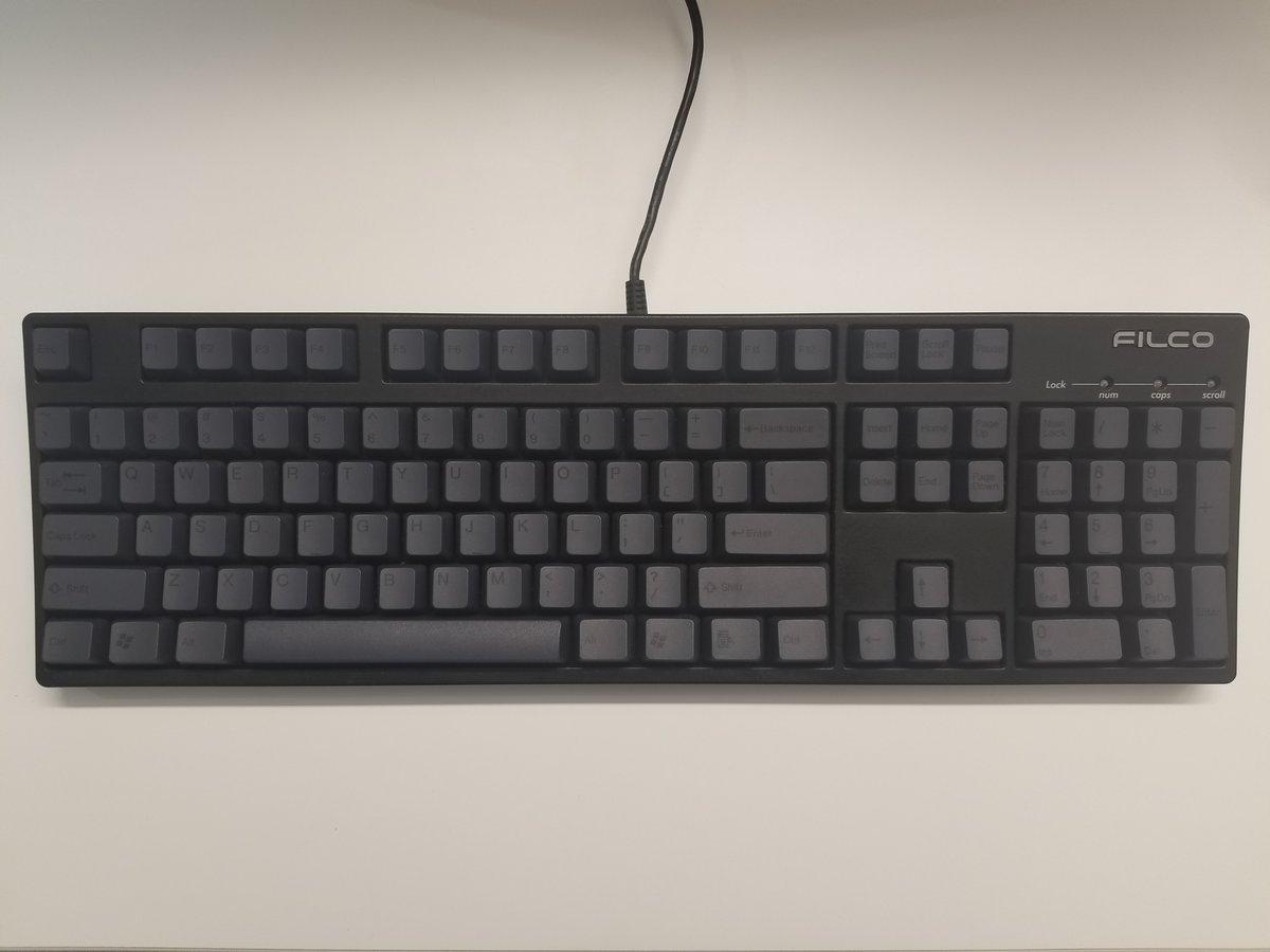 Image of [Tai Hao]Graphite Gray Keycap Doubleshot Keyset