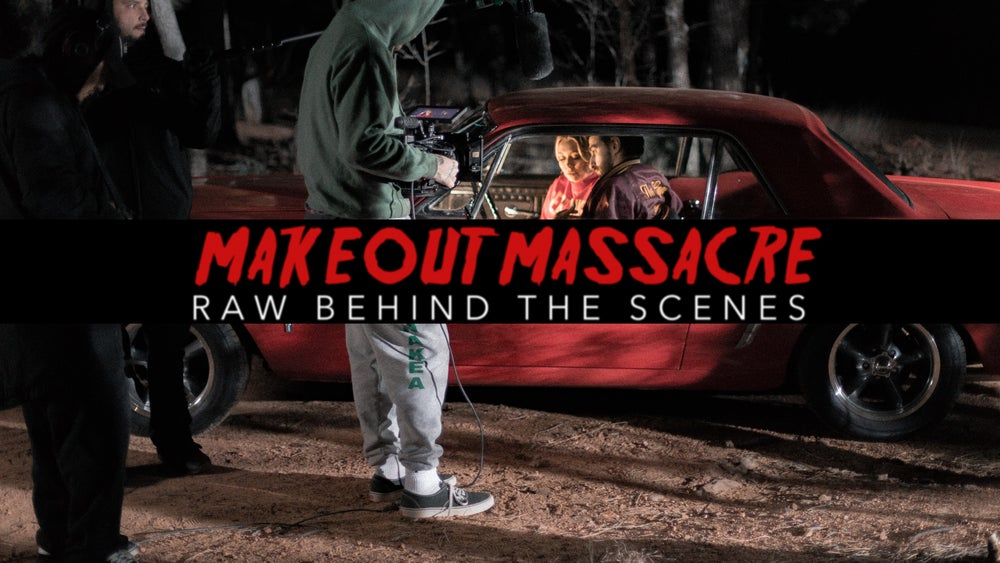 "Image of ""Makeout Massacre"" Raw Behind The Scenes Video/Film"