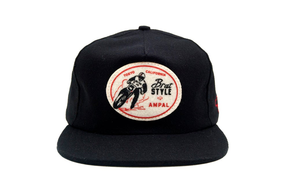 Image of BRAT STYLE×AMPAL CREATIVE HAT Black