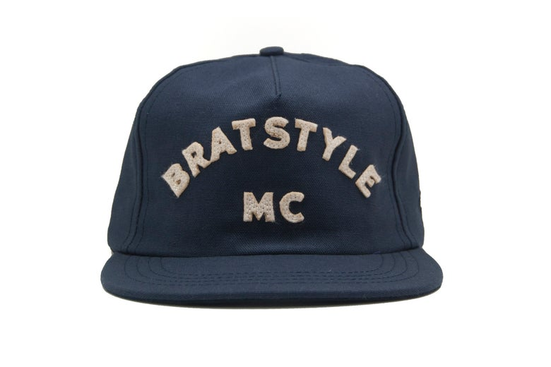 Image of BRAT STYLE×AMPAL CREATIVE HAT Navy