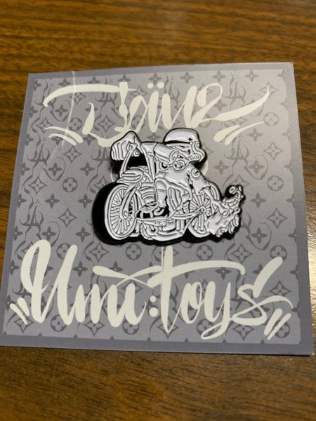 Image of Lowrider Bike Trooper pin by Jay2Tatts
