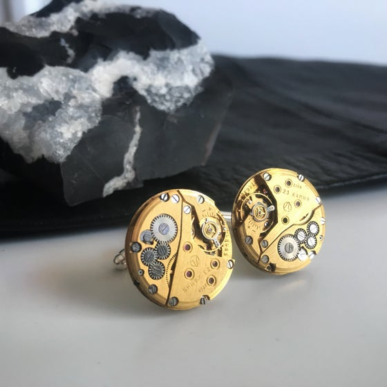 Image of Golden Movement Cufflinks