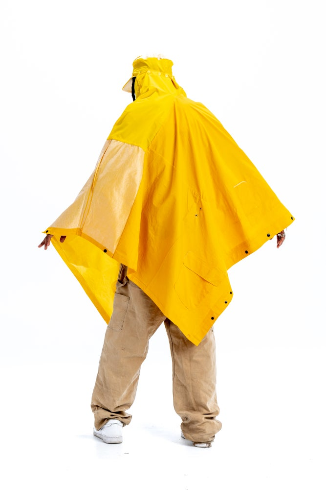 Image of FISHERMAN PILL HAT PONCHO