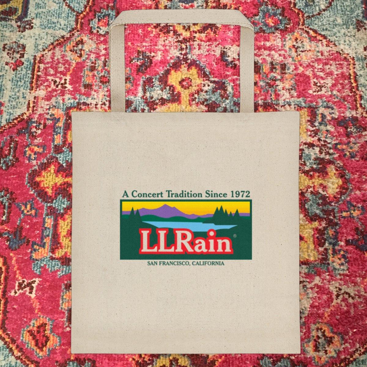 LL Rain Tote Bag!