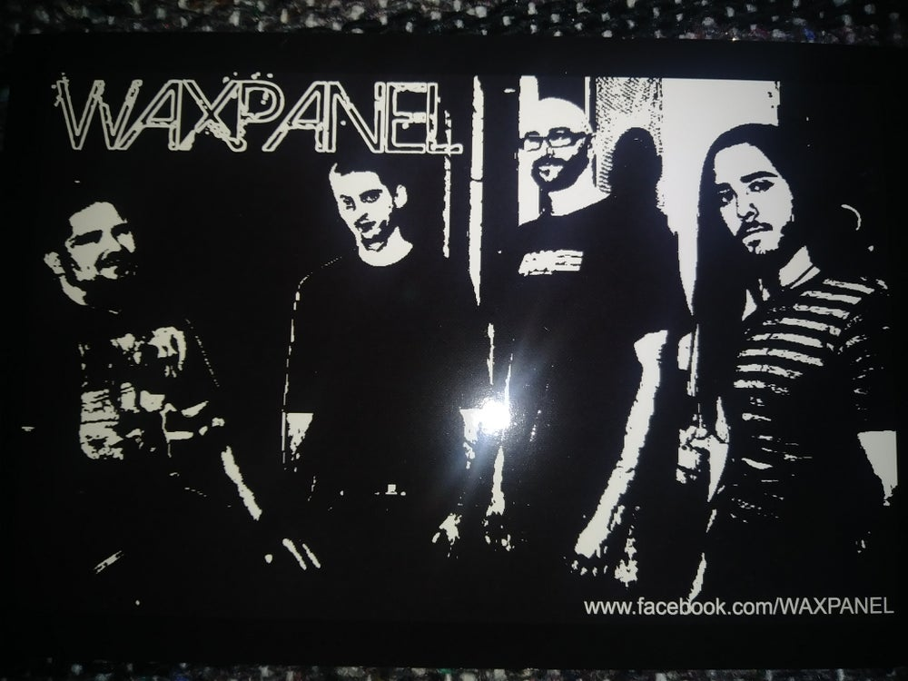 Image of WAXPANEL original line up photo