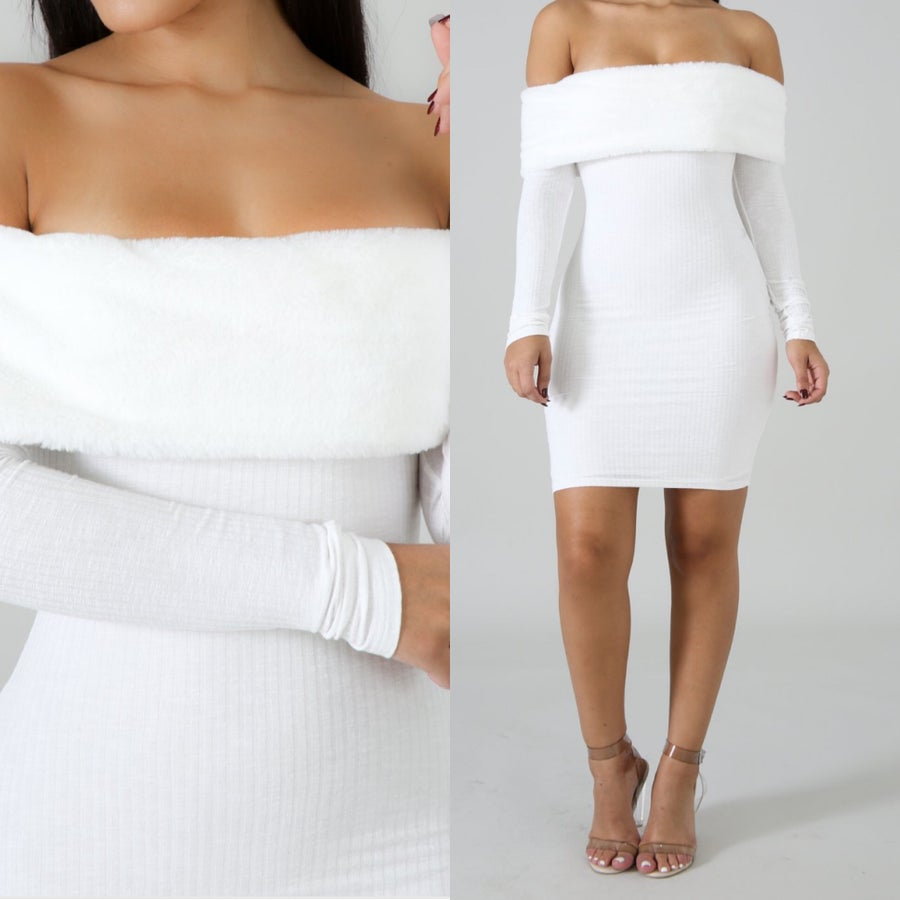 Image of Off the shoulder Lisa Dress