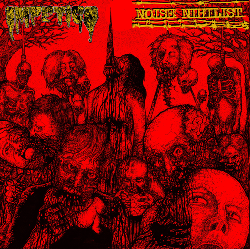 Image of IMPETIGO - NOISE NIHILIST - SPLIT FLEXI 7