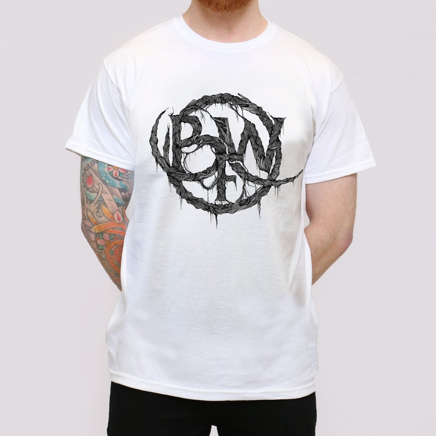 Image of White BFW Roots T shirt