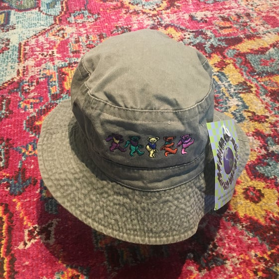 Image of GD Vintage Original Bears 1990's Bucket Hat! NEW Old Stock!