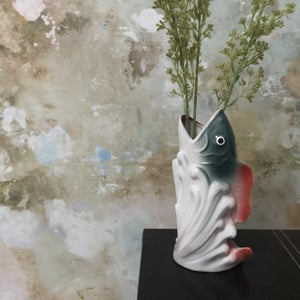 Image of ceramic fish vase